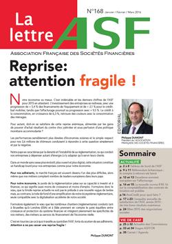 La Lettre de l ASF n° 168