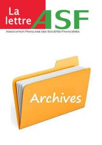 La Lettre de l ASF : archives