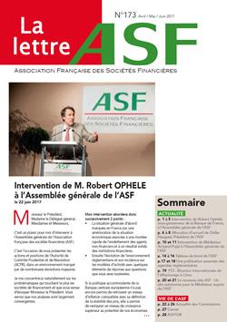 La Lettre de l ASF n° 173